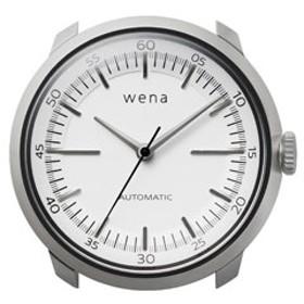 ハイブリッドスマートウォッチ wena wrist Mechanical White Head WH-TM01 W