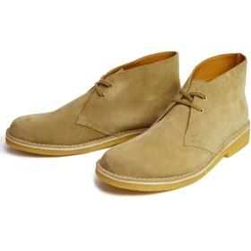 ブーツ - ShoeSquare メンズ ブーツ 本革 メンズブーツ デザートブーツ 革靴 メンズ ショートブーツ チャッカブーツ スエード レザークレープソール天然ゴム カジュアルシューズ 人気 靴 メンズシューズ 1179