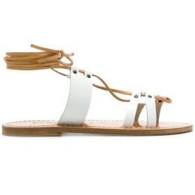 Solange Sandals マルチストラップ サンダル - ホワイト