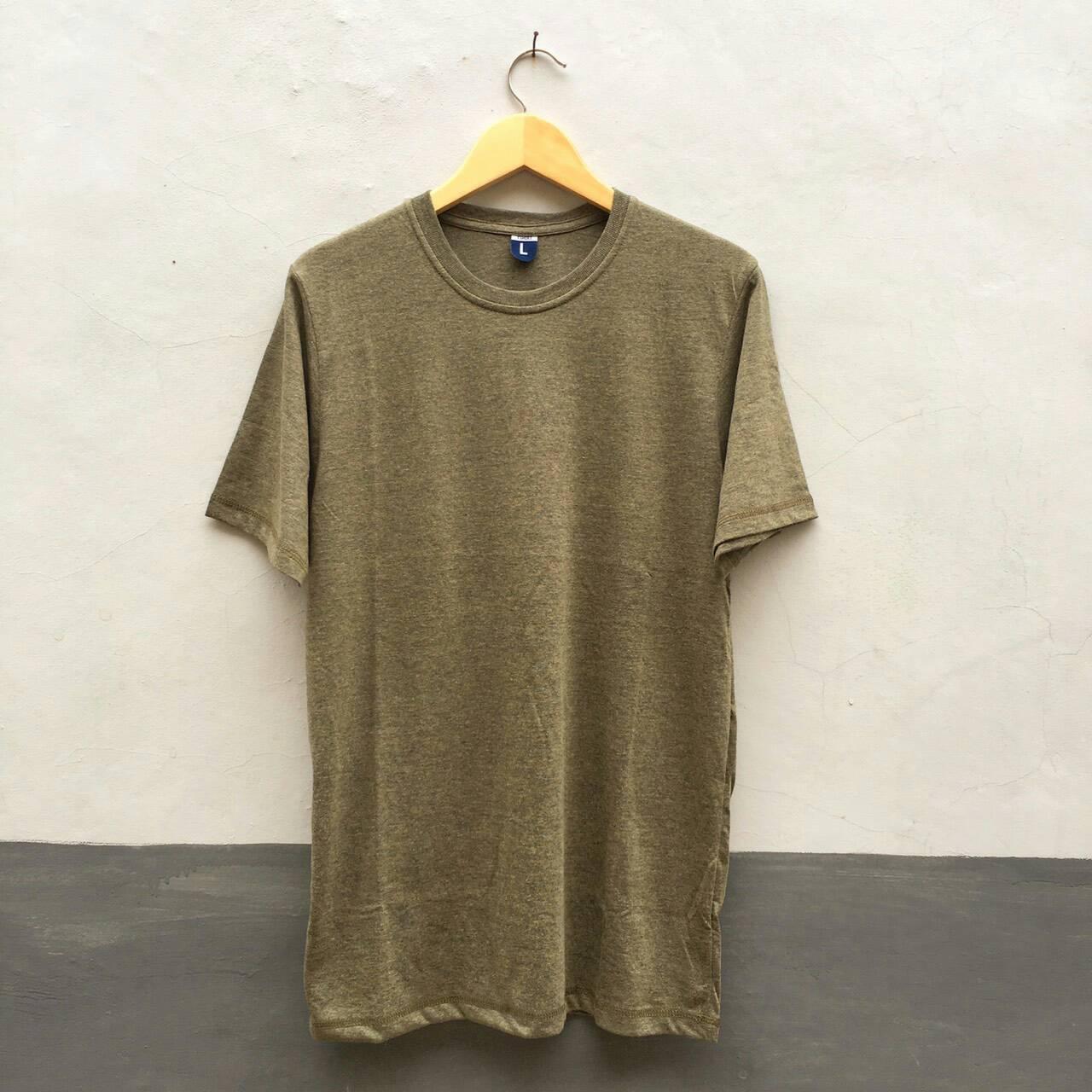 Cottoncombedbandung Shop Line Kaos Polos Navy Misty Gold