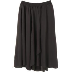 【5,000円以上お買物で送料無料】【Furryrate】ボリュームフレアスカート