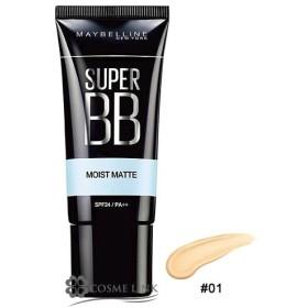 メイベリン ニューヨーク スーパー BB モイストマット #01 (498247)