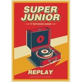 8TH ALBUM REPACKAGE : REPLAY / SUPER JUNIOR スーパー・ジュニア(輸入盤) (CD)8809440338122-JPT