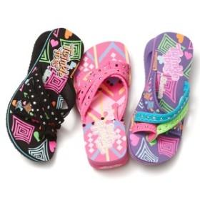 """スケッチャーズ(キッズ)(SKECHERS)/スピナー サッシーサファリ  サンダル サマープレゼントに! """" Summer kids gift!"""
