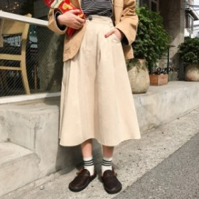 秋冬 Aラインスカート《3colors》