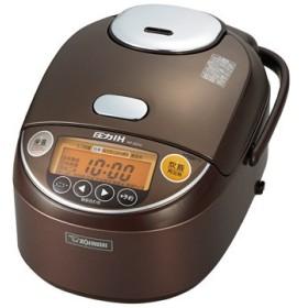 象印 【在庫限り】圧力IH炊飯器 5.5合炊き ブラウン NP-ZQ10-TA