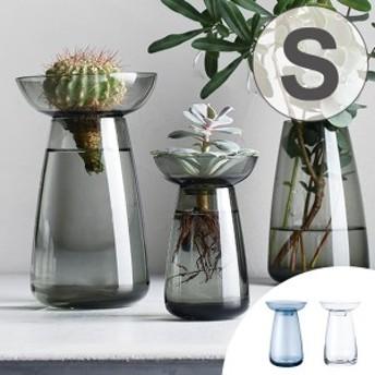 キントー KINTO 花器 AQUA CULTURE VASE Sサイズ ガラス 花瓶 おしゃれ ( フラワーベース 花 グリーン 栽培 ハーブ インテリア