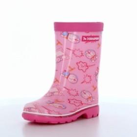 サンリオ アイムドラえもん I'm Doraemon 子供靴 キッズレインブーツ DRM RB C66 ピンク キャラクター 洗えるインソール レインブーツ