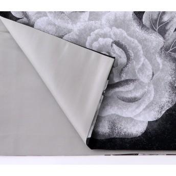 浴衣・着物の帯 - MINE CUBE 袋帯 モノトーンローズ 正絹 仕立て上がり