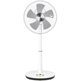 YAMAZEN 30cmDCリビング扇風機 YLRX-BKDA302 立体首振り リモコン付