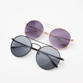 サングラス - CELL ラウンド細フレームサングラス 眼鏡 メガネ UVカット 丸サングラス UVカット リゾート 海