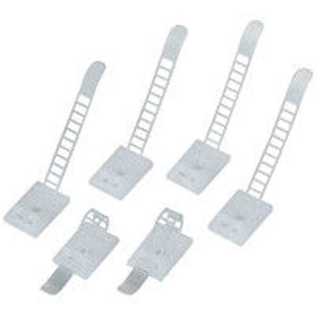 エレコム ケーブル結束クリップ 白 LD-CUC18 1セット