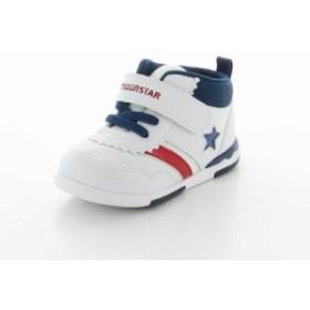 ムーンスター キャロット 子供靴 ベビーシューズ MS B95 トリコ 高機能 ベビーカジュアルシューズ