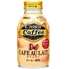 Crown Coffeeカフェオレ ( 260g24本入 )/ サンガリア