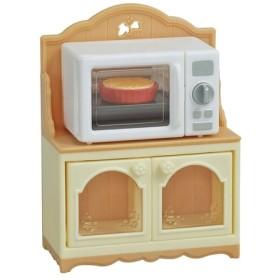 エポック社 シルバニアファミリー オーブンレンジ・ラック カー425