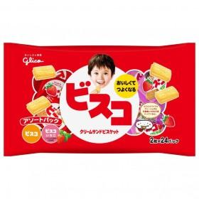 ビスコ アソートパック 大袋(2枚x24パック)【お菓子】