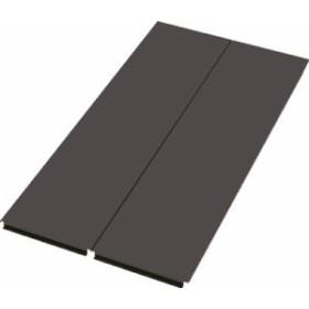 TRUSCO 軽量ボルトレス棚TSUF型用背板 TSUFS63ABK/1枚【4636970】