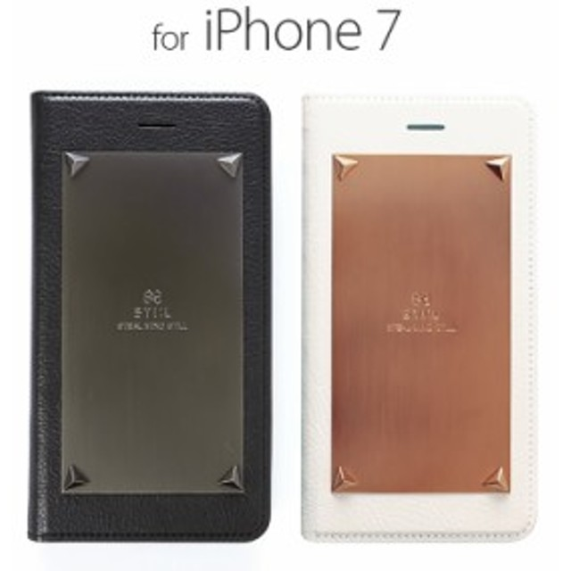 8269284f9f お取り寄せ iPhone8 ケース iPhone7 カバー 手帳型 STI:L LOVE TRIANGLE スティール ラブトライアングル