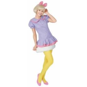 大人用デイジーダック ハロウィン 仮装 コスチューム 衣装 chara pair cute ディズニー ドナルド デイジ
