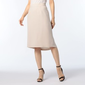 ノーリーズ レディース(NOLLEY'S)/麻調ツイルフレアテイルスカート