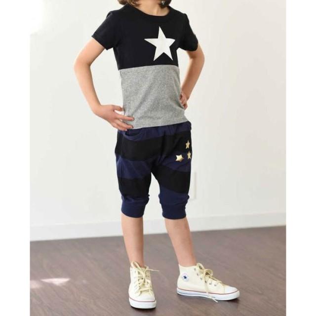 629cdfae023b6 Tシャツ - ZI-ON KIDS STORE POSTAR バイカラー箔PTTシャツ キッズ 子供 ...