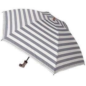 東急ハンズ hands+ 1級遮光 新簡単開閉折りたたみ傘 縄紐 50cm ネイビーボーダー