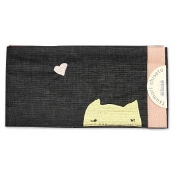 【tsumori chisato/浴衣帯】半幅 ゆかた ツモリチサト ユカタ 猫 ネコ 花火大会 デート レディース 女性 可愛い