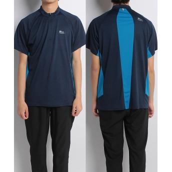 販売主:スポーツオーソリティ ランパスポート/メンズ/スラブジップTシャツ メンズ ネイビー M 【SPORTS AUTHORITY】