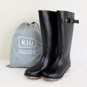 w.p.c kiu LONG RAIN BOOTS ロング レインブーツ / ブラック M