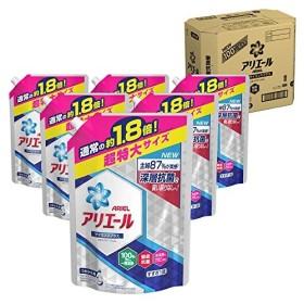 【ケース販売】 アリエール 洗濯洗剤 液体 イオンパワージェルサイエンスプラス詰め替え 超特大1.26kgx6個