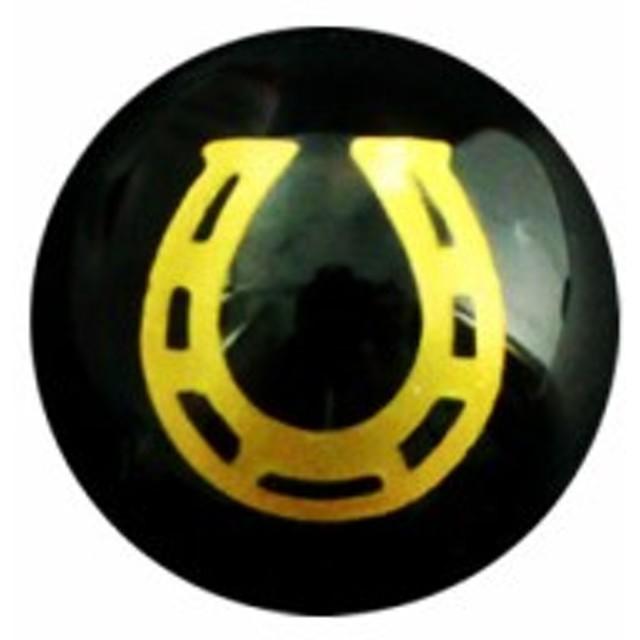 馬蹄 オニキス 彫刻ビーズ 14mm (金彫り) 馬蹄 【彫刻 一粒売りビーズ】天然石 パワーストーン