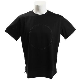 ザ・ワープ・バイ・エネーレ(The Warp By Ennerre) 【オンライン特価】半袖グラフィックTシャツ Circle WB37JA19 BLK (Men's)
