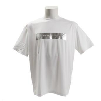 ザ・ワープ・バイ・エネーレ(The Warp By Ennerre) 【オンライン特価】半袖グラフィックTシャツ Square WB37JA24 WHT (Men's)