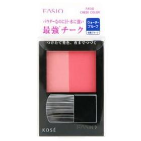 コーセー ファシオ(FASIO) ウォータープルーフ チーク PK-2 (ピンク系) ほお紅