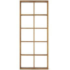 HOME COORDY オープンシェルフブラウン2×5 ホームコーディ 幅86.6×奥行29.6×高さ208cm シェルフ・ディスプレイラック