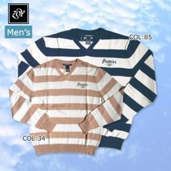 【ゾーイ】【ZOY】071-372754 メンズ 薄手セーター