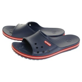 クロックス(crocs) crocband 2 slide Nvy #P204108-4CC (Men's)