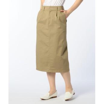 NOLLEY'S チノストレッチタイトスカート