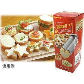TOMIZ cuoca (富澤商店 クオカ) パン焼型 ハートブレッド / 1個 パン作りの型 パン型 その