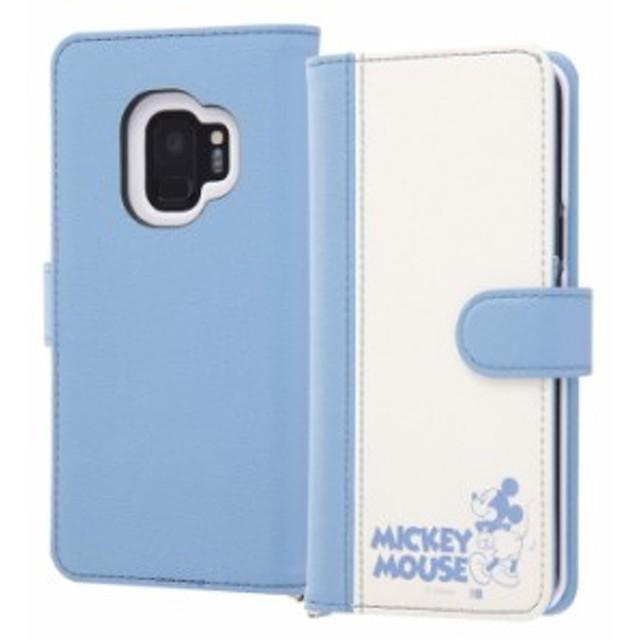 a53caee699 Galaxy S9 ケース ディズニー ギャラクシーs9 手帳 ミッキー 手帳ケース 手帳型 マグネット式 Dリング