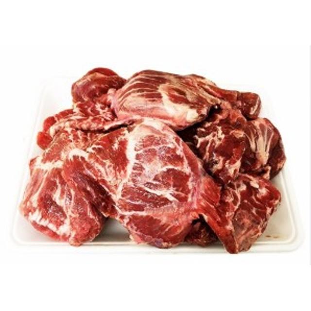 【クール便選択必要!】豚ほほ肉(豚カシラ) 約1Kg★韓国食品市場★豚肉 /スンデ/豚バラ肉スライス/焼肉