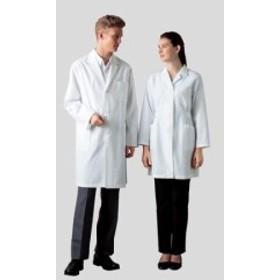 アズワン(AS ONE) 白衣ハーフコート(オフホワイト) 女性用 261-90 L(2-9353-03)