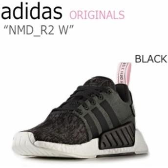アディダス スニーカー adidas originals メンズ レディース NMD_R2 W エヌエムディーR2 BLACK ブラック ピンク BY9314 シューズ