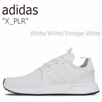 アディダス スニーカー adidas メンズ レディース X_PLR White White Vintage White ホワイト BB1099 シューズ