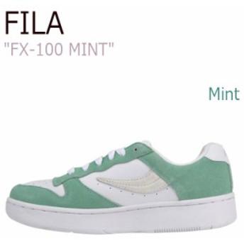 フィラ スニーカー FILA メンズ レディース FX-100 MINT エフエックス100 ミント FLFL7S1U15 シューズ