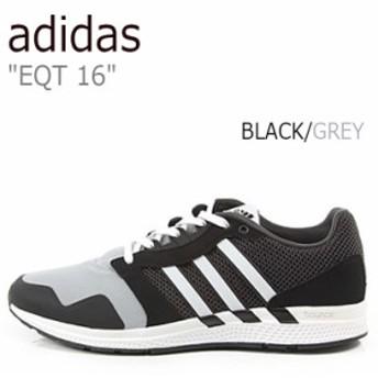 アディダス スニーカー adidas メンズ レディース Equipment 16 エキップメント16 Black Grey ブラック グレー B49492 シューズ