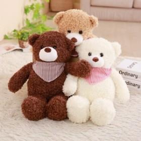 ぬいぐるみ くま テディベア 可愛い熊 動物 大きい くまぬいぐるみ 熊 き枕 お祝い ふわふわ  お人形 子供 女性 抱き枕50cm