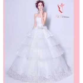 dress-191 ウェディングドレス ドレス 結婚式 披露宴 刺繍/ プリンセスライン