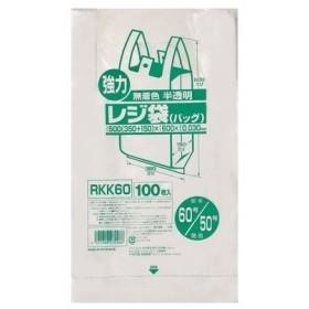 レジ袋60号 100枚 RKK-60