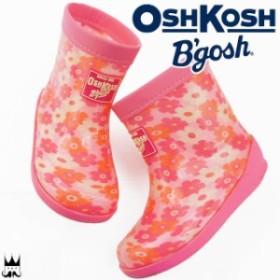 オシュコシュ OSHKOSH 女の子 子供靴 ベビー キッズ チャイルド レインブーツ ロンプ B01 OSK ムーンスター Moonstar レインシューズ